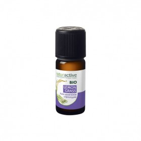 Naturactive lemon grass huile essentielle bio flacon 10ml