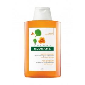 Klorane Shampoing Traitant Antipelliculaire à l'Extrait de Capucine 200 ml