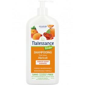 Natessance kids shampooing tout doux abricot 500ml