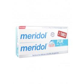 Meridol Dentifrice Pur Lot de 2 x 75 ml