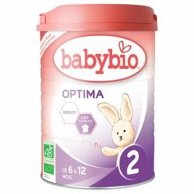 BABYBIO OPTIMA 2 LAIT DE SUITE 6-12 MOIS BIO 900G