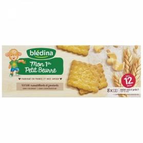 BLEDINA MON 1ER PETIT BEURRE DES 12 MOIS 8 PAQUETS DE 2 BISCUITS