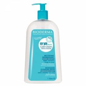 Bioderma cold cream crème lavante nourrissante ABCderm 1000 ml