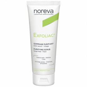 NOREVA EXFOLIAC GOMMAGE PURIFIANT PEAUX A IMPERFECTIONS 50ML