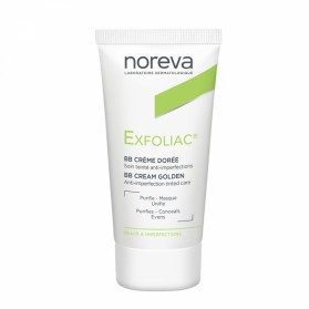 NOREVA EXFOLIAC BB CREME DOREE SOIN TEINTE ANTI-IMPERFECTIONS 30ML
