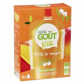 GOODGOUT KIDZ GOURDES MANGUE 4X90G