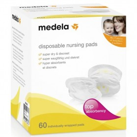 MEDELA COUSSINET ABSORBANTS A USAGE UNIQUE BOITE DE 60