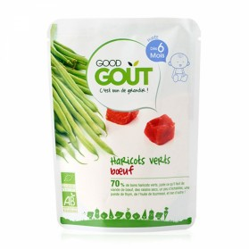 GOODGOUT PLAT COMPLET HARICOTS VERTS BOEUF 190G