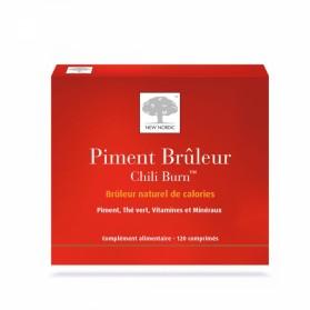 NEW NORDIC PIMENT BRULEUR CHILI BURN 120 COMPRIMES