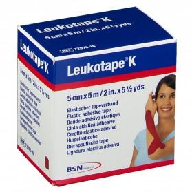 Leukotape® K Rouge 5 cm x 5 m