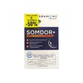 Granions Somdor+ Lot de 2 x 30 Comprimés