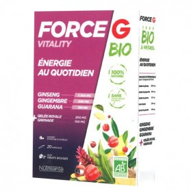 FORCE G BIO VITALITY 20 AMPOULES