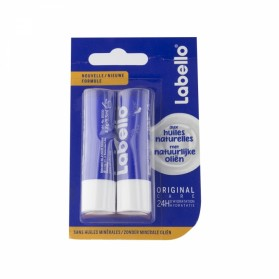 LABELLO ORIGINAL CARE 24H STICK LEVRES DUO 2X4.8G