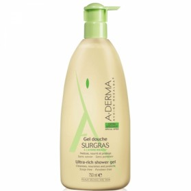 A-DERMA Gel douche Surgras au lait d'avoine 750ml