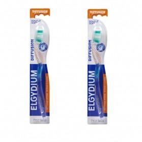 ELGYDIUM Diffusion Brosse à dents Duo médium
