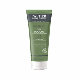 CATTIER HOMME GEL DOUCHE CABINE DE BAIN BIO 200ML