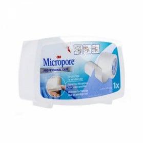 3M MICROPORE SPARADRAP BLANC POUR PEAUX SENSIBLES 25MM X 9.14M