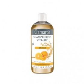Gamarde Shampooing Vitalité à l'Orange Pour Cheveux Normaux 500ml