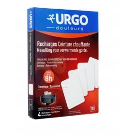 Urgo recharge ceinture chauffante 4 unités