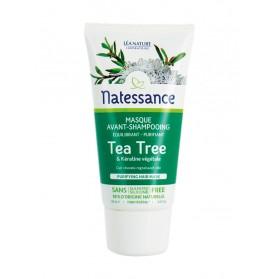 Natessance Masque Avant-Shampooing Tea Tree & Kératine Végétale 150 ml