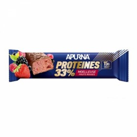 APURNA BARRE HYPERPROTEINEE MOELLEUSE 45G - FRUITS ROUGES