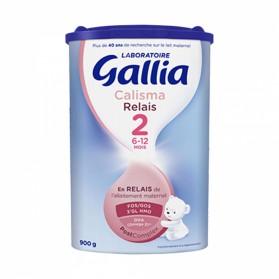 GALLIA CALISMA RELAIS 2 LAIT EN POUDRE 6 A 12 MOIS 800G