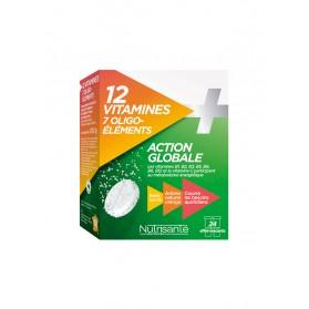 Nutrisanté 12 Vitamines + 7 Oligo-Éléments 24 Comprimés
