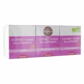 GIFRER COFFRET TISANES ALLAITEMENT 3X10 SACHETS