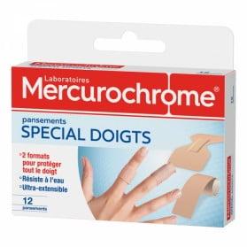 MERCUROCHROME PANSEMENTS DOIGTS X12