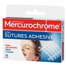 MERCUROCHROME PANSEMENTS SUTURES ADHESIVES X16