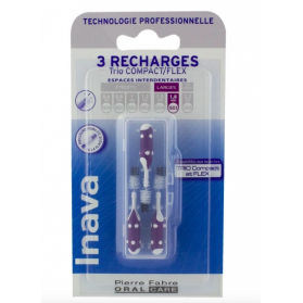 INAVA RECHARGES BROSSETTES INTERDENTAIRES 1.8MM VIOLET X3