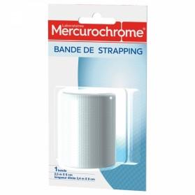 MERCUROCHROME BANDE DE STRAPPING 2.5M X 7CM