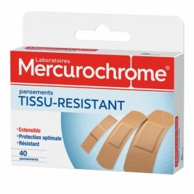MERCUROCHROME PANSEMENTS TISSU RESISTANT X40