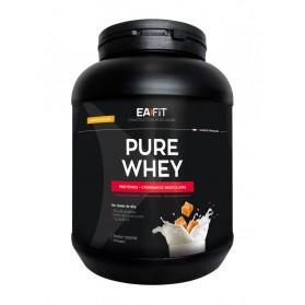 EAFIT PURE WHEY Construction Musculaire 750 g - Parfum : Caramel