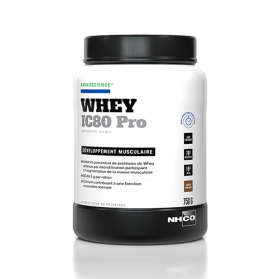 NHCO WHEY IC80 PRO CHOCOLAT PRISE DE MUSCLE 750 G