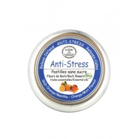 Elixirs & Co Anti-Stress Pastilles Sans Sucre 45 g