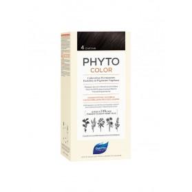 PHYTO PHYTOCOLOR COLORATION PERMANENTE AUX PIGMENTS VEGETAUX - 4 CHATAIN