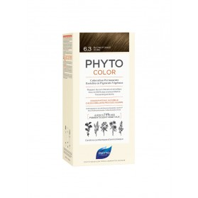 PHYTO PHYTOCOLOR COLORATION PERMANENTE AUX PIGMENTS VEGETAUX - 6.3 BLOND FONCE DORE