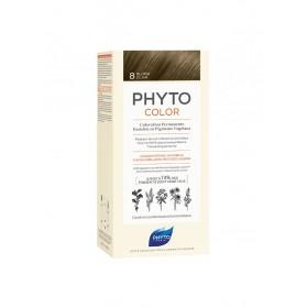 PHYTO PHYTOCOLOR COLORATION PERMANENTE AUX PIGMENTS VEGETAUX - 8 BLOND CLAIR