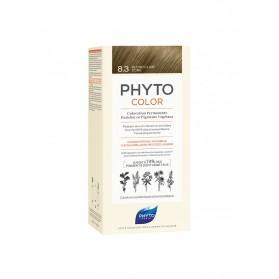 PHYTO PHYTOCOLOR COLORATION PERMANENTE AUX PIGMENTS VEGETAUX - 8.3 BLOND CLAIR DORE