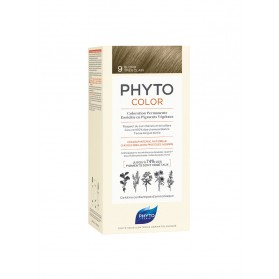 PHYTO PHYTOCOLOR COLORATION PERMANENTE AUX PIGMENTS VEGETAUX - 9 BLOND TRES CLAIR