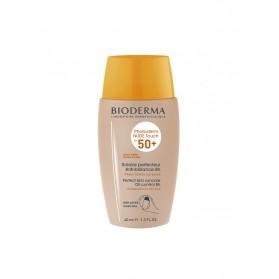 Bioderma Photoderm Nude Touch SPF 50+ 40 ml - Teinte : Dorée