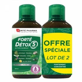 FORTE DETOX 5 ORGANES 2X500ML