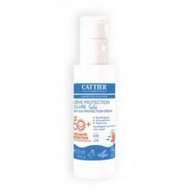 CATTIER SOLAIRE Crème protection solaire bébé SPF 50+ BIO 50ml