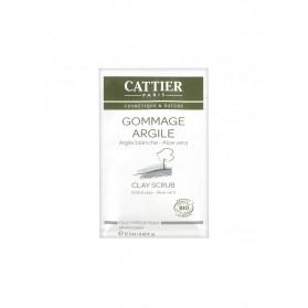 Cattier Gommage Argile Blanche 12,50 ml