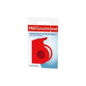 Mercurochrome Sparadrap Microporeux 5 m x 2,5 cm