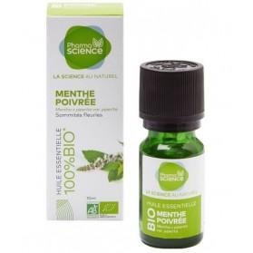 PHARMASCIENCE Huile Essentielle Menthe Poivrée Bio - 10 ml