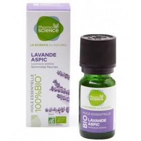 PHARMASCIENCE Huile Essentielle Lavande Aspic Bio - 10 ml