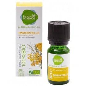 PHARMASCIENCE Huile Essentielle Immortelle Bio - 5 ml