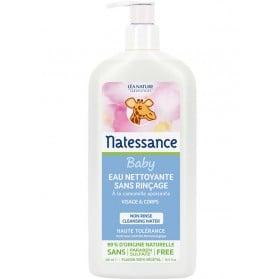 NATESSANCE BEBE Eau Nettoyante Sans Rinçage 500 ml